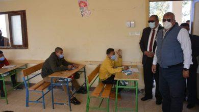 Photo of المحافظ يتفقد لجان امتحانات الشهادة الإعدادية بالخارجة