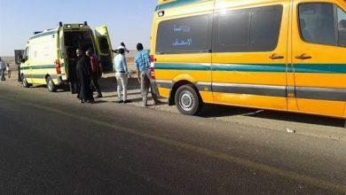 Photo of إصابة 5 أشخاص في انقلاب سيارة بالفرافرة