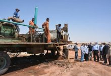 Photo of الزملوط يتابع مشروع الظهير الزراعي بقرية بدخلو فى الداخلة