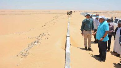 Photo of محافظ الوادي الجديد يوجه بإزالة حاجز النيوجيرسي بطريق الفرافرة – ديروط