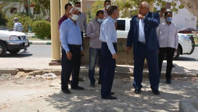 Photo of اللواء الزملوط يتابع أعمال إنشاء الأبراج السكنية التابعة لصندوق الإسكان