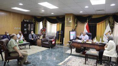 Photo of اللواء الزملوط يلتقي وفد إحدي الشركات المتخصصة في صيانة الطرق