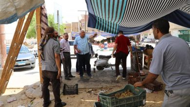 Photo of اللواء الزملوط  يوجه برفع الإشغالات أمام المحال التجارية في الوادي الجديد