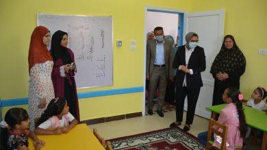 """Photo of نائب محافظ الوادي الجديد تفتتح أعمال مشروع"""" الطفولة المبكرة"""" بقرية المنيرة بالخارجة"""