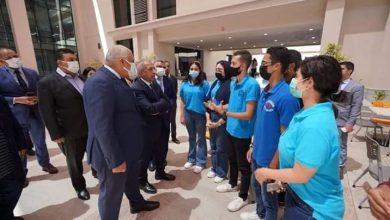 Photo of محافظ الوادي الجديد يبحث إنشاء فرع للأكاديمية العربية للعلوم والتكنولوجيا بالمحافظة