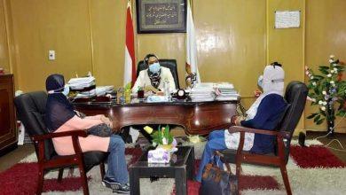 Photo of نائب محافظ الوادي الجديد تستقبل لجنة معاينة المعهد الفنى الصحي بالداخلة