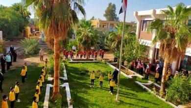 Photo of وسط التزام بالإجراءات الاحترازية 464 مدرسة بالوادي الجديد تستقبل طلابها في أول أيام العام الدراسي الجديد