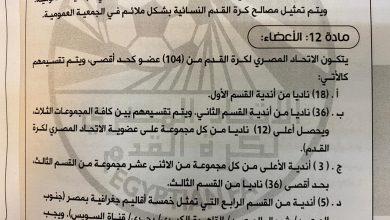 Photo of عاجل السيد المحافظ ..السادة النواب..مسئولو الأندية ومنطقة الكرة..تحركوا قبل فوات الآوان