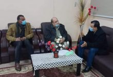 Photo of رئيس جامعة الوادى الجديد يستقبل نقيب المهندسين بالمحافظة لبحث أوجه التعاون