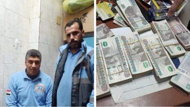 Photo of بالصور طاقم بإسعاف بالوادي يسلم 64 الف جنيه وجدت مع متوفي في حادث لقسم الشرطة