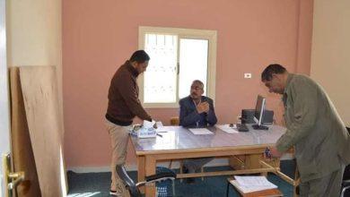 Photo of رئيس الوحدة المحلية لمركز ومدينة باريس في جوله تفقديه لقرية جورمشين