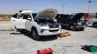 Photo of تحويل سيارة محافظ الوادي الجديد للعمل بالغاز الطبيعي كأول سيارة حكومية يتم تحويلها