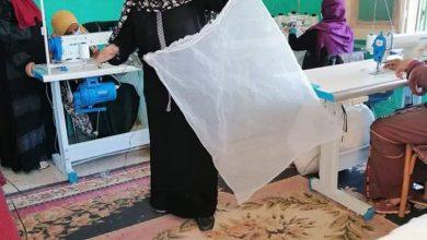 Photo of فتح وحدة تصنيع تابعة لمصنع المحافظة للملابس الجاهزة بقرية ناصر في الخارجة