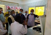 Photo of بالصور…نائب المحافظ تتفقد بنك الدم بمستشفى الداخلة العام