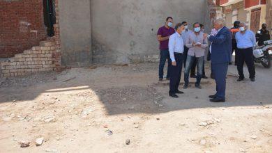 Photo of اللواء الزملوط يتفقد أعمال تطوير منطقة درب السندادية بالخارجة