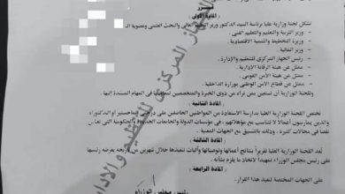 Photo of أخيرا  قرار وزارى ينصف حملة الماجستير والدكتوراة العاملين فى الدولة