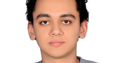 """Photo of """"أحمد كامل منصور"""" الأول على مستوي المحافظة علمي علوم"""