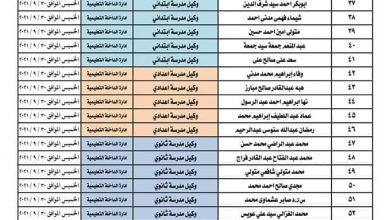 Photo of عاجل بالأسماء تعرف على مواعيد المقابلات للمرشحين للوظائف القيادية بالتعليم